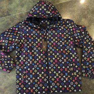 Louis Vuitton Rainbow Puffer Jacket